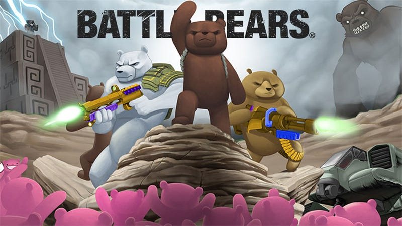Illustration for article titled Battle Bears Take the Fight to TV Animation