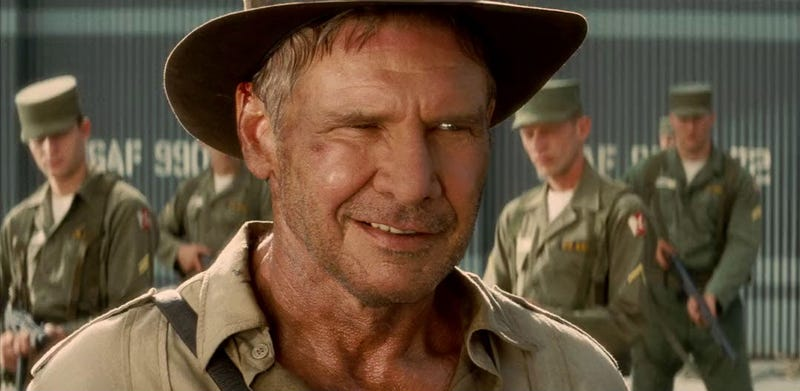 Illustration for article titled Harrison Ford and Steven Spielberg Return for Indiana Jones 5 in Summer 2019