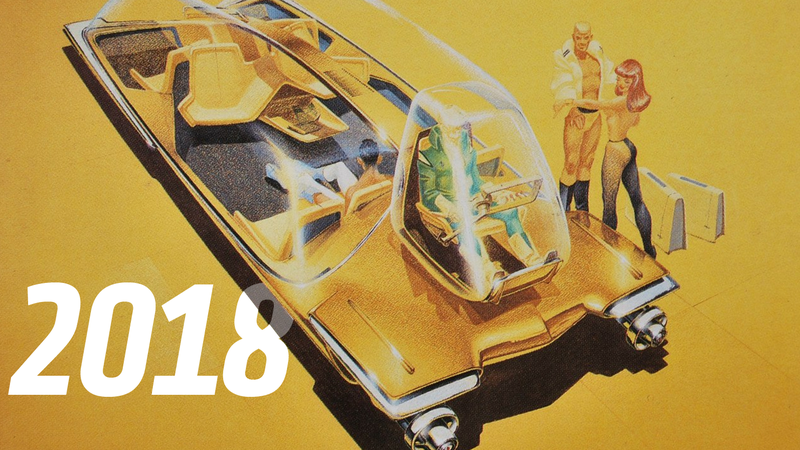 Illustration for article titled Automotive Predictions For 2018 That Are Absolutely Maybe Going To Happen