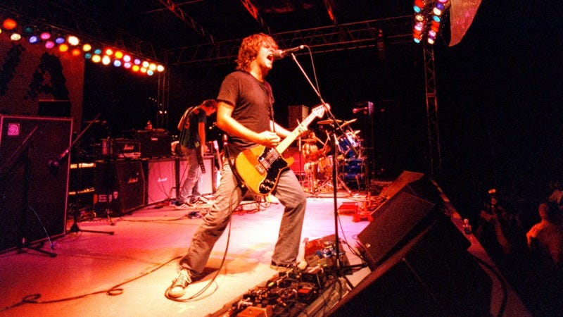 Scott Lucas of Local H performs in 1998 (Photo: Mark Peterman/WireImage/Getty Images)