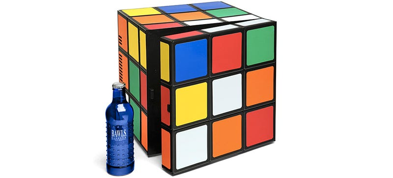 Illustration for article titled This Rubik's Cube Fridge Will Forever Be Unsolved