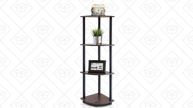 Furinno Corner Shelf, $10