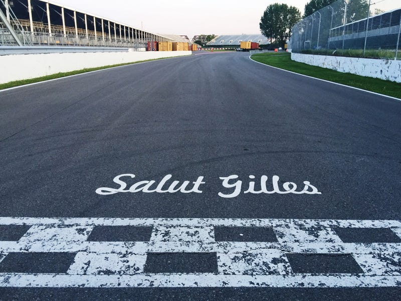 Illustration for article titled Canadian Grand Prix Prep - Arrival at the Villeneuve Track (photo's)