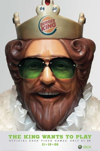 Illustration for article titled Burger King Returns To The 360, This Time For Kinect