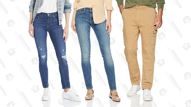 Up to 50% Select Levi's Men's and Women's Clothing | Amazon | Prime member exclusive
