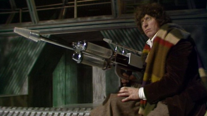 Tom Baker with a big gun? All this and more will be coming to Twitch next week!