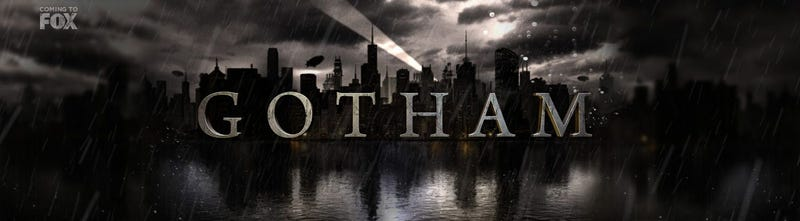 "Illustration for article titled Fox releases official synopsis and logo for ""Gotham"""