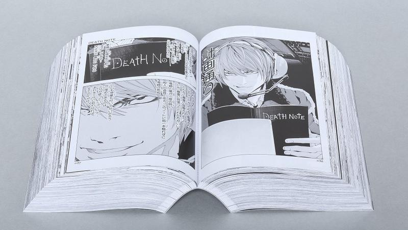 A 2400 Page Edition Of The Death Note Manga You Could Beat Someone To With