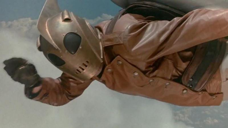 Illustration for article titled The Rocketeer is a superhero movie in the stirring Spielberg mold