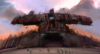 Illustration for article titled Massive Half-Life 2 Drydock Needs Defense and Some Paint