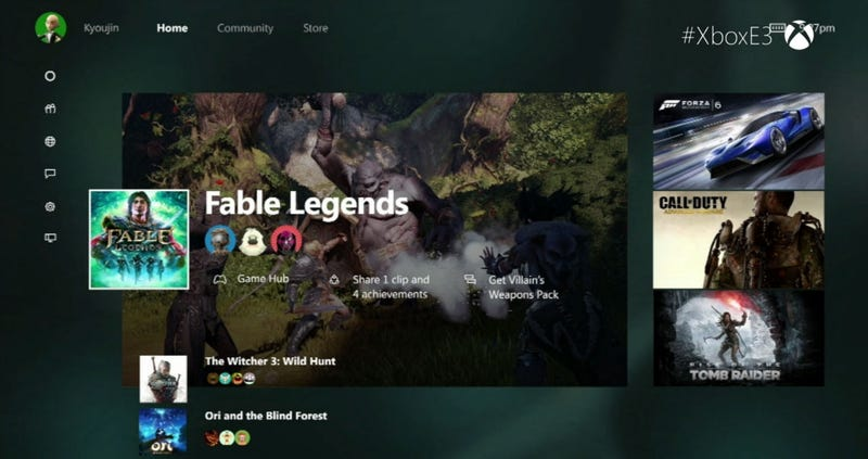 Illustration for article titled Xbox One Getting New Dashboard UI