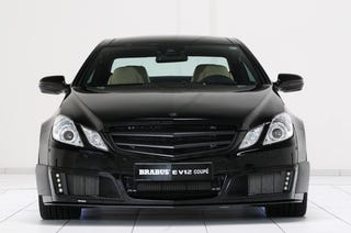 Illustration for article titled Brabus E V12 Coupe: Once Your E-Class Goes Black...