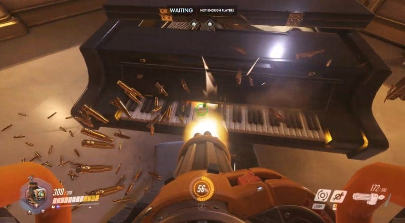 Illustration for article titled Overwatch's New Paris Map Has A Piano And Everyone Is Playing It