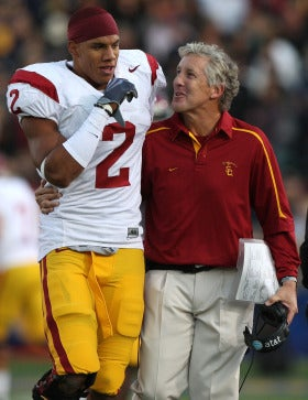 Illustration for article titled New 49er Taylor Mays Implies Pete Carroll Broke Some Sort of Vague Promise to Draft Him