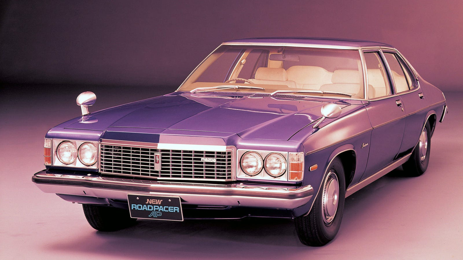 The Mazda Roadpacer Was A Big Holden With A Rotary Engine