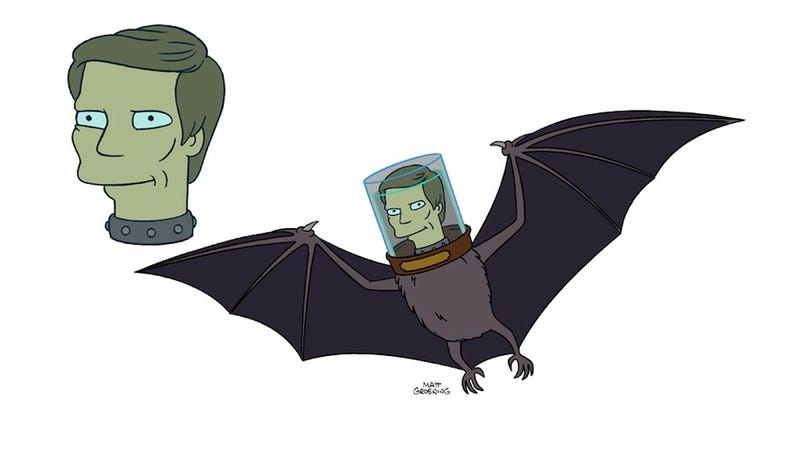 Illustration for article titled Adam West and Burt Ward will go batty on Futurama