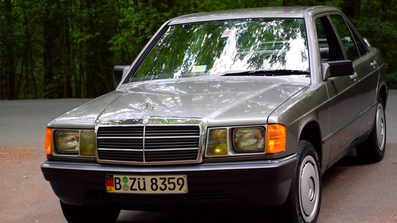 You'll Drive Very Slowly In A Mercedes 190E 2 0 But You'll
