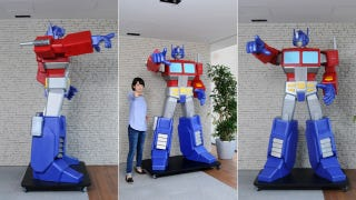 Illustration for article titled Do You Have $30,000 for This Giant Optimus Prime Statue?