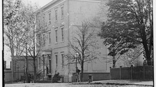 White House of the Confederacy in 1865Matthew Brady/Library of Congress