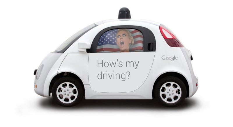 Illustration for article titled Photoshop Contest: Help Google Decorate Its Self-Driving Car