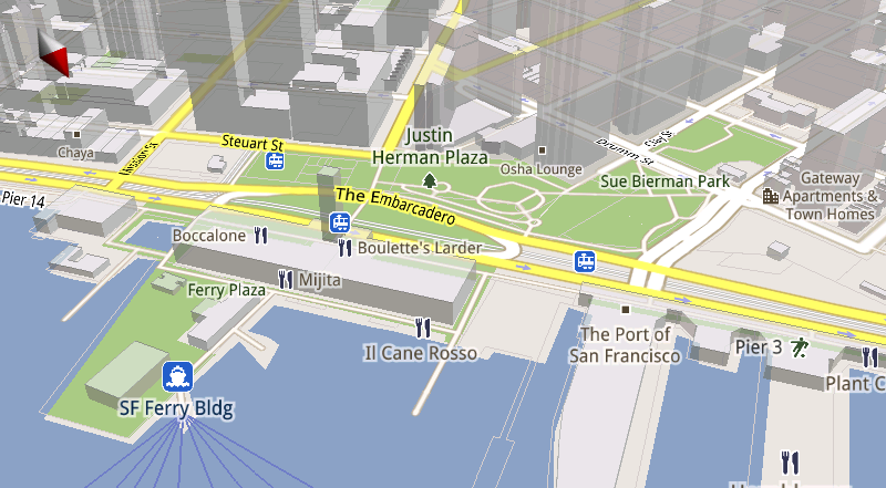 Illustration for article titled Google Maps for Android Now Faster, Smoother, in 3D and Works Offline
