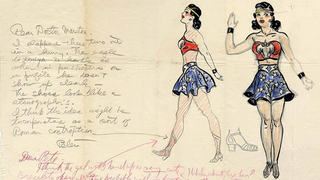 Illustration for article titled The First Ever Sketch Of Wonder Woman Is Going On Sale (UPDATED)