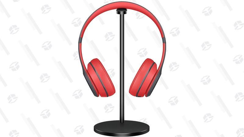Aluminum Headphone Stand | $6 | Amazon | Promo code K9OIEPMH