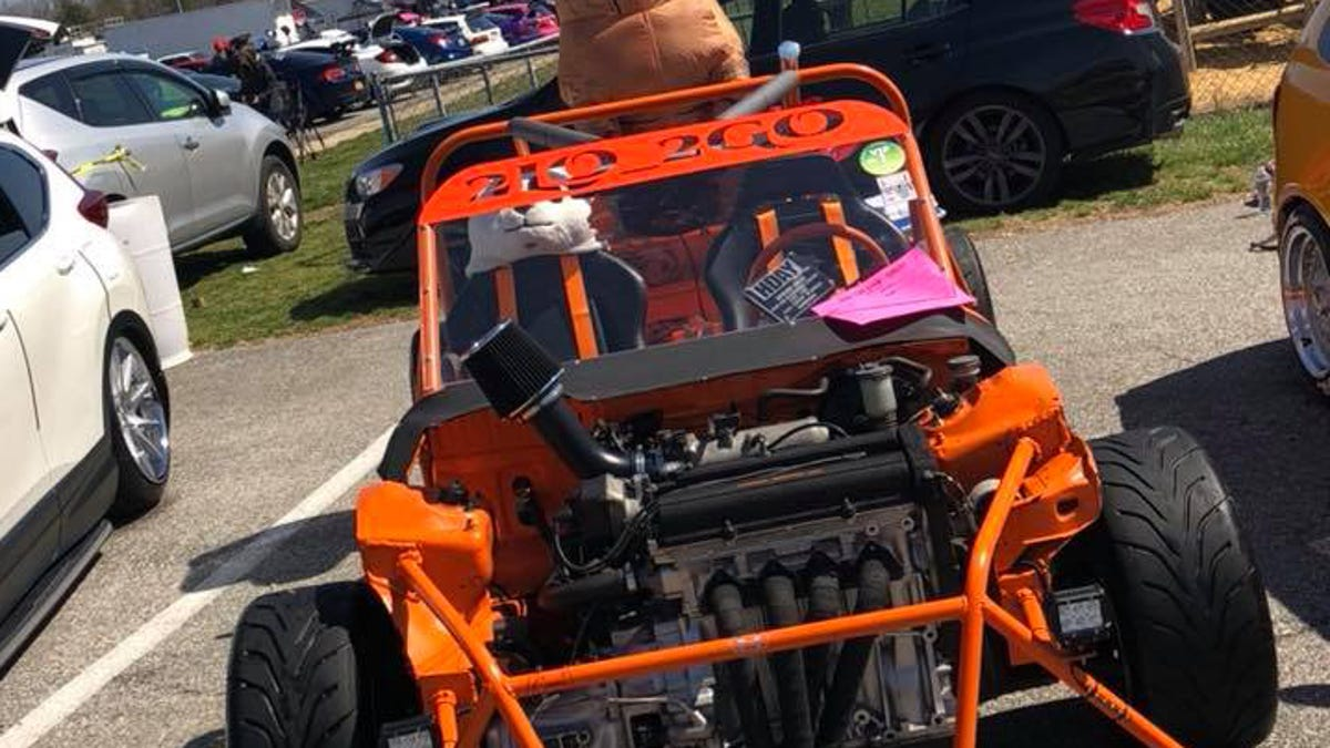 Man Dies After Crash In Home-Built Honda Civic Based Kart He Named