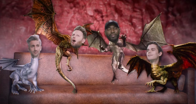 In the final Game Of Thrones, we finally meet Jonathan's dragons
