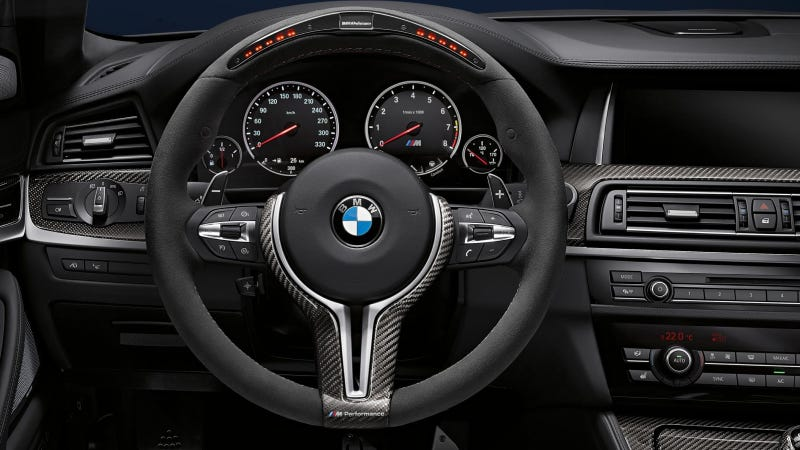 Illustration for article titled BMW M Performance Parts For The M5 Sedan, M6 Coupe, M6 Convertible And M6 Grand Coupe