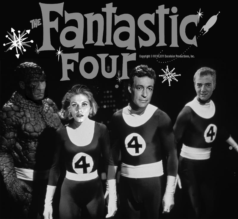 Illustration for article titled Why Wasn't This 1960s Fantastic Four TV Show A Real Thing?