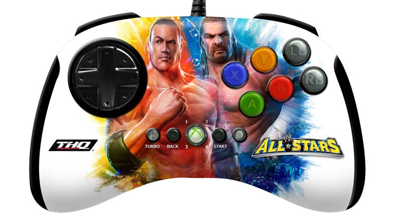 Illustration for article titled The WWE All Stars Mad Catz Brawl Pad, A Guest Review