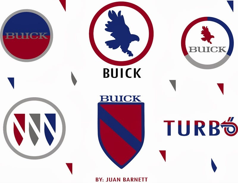 Illustration for article titled Wherein I reinvent  the Buick logo