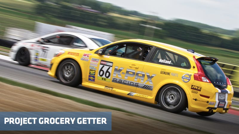 Illustration for article titled Project Grocery Getter kicks ass at Mid Ohio