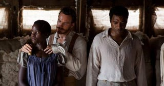 Lupita Nyong'o, Michael Fassbender and Chiwetel Ejiofor in 12 Years a SlaveFox Searchlight