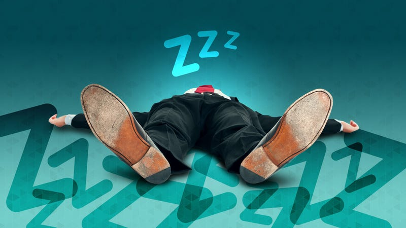 Illustration for article titled Why Am I So Tired All the Time Even When I Get Enough Sleep?