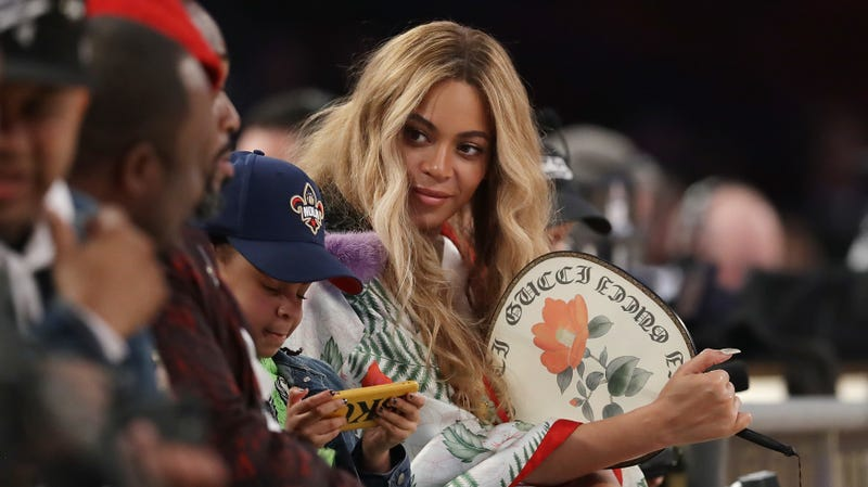 Beyonce attends the 2017 NBA All-Star Game on February 19, 2017 in New Orleans, Louisiana.