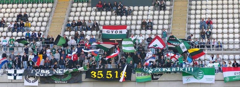 Illustration for article titled Spéci rasszizmusőrök lesznek a Győr Maccabi elleni focimeccsén