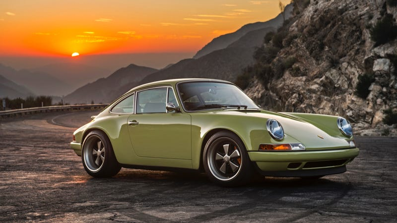 Illustration for article titled Just Sit There And Drool Over The Gorgeous New Singer 911