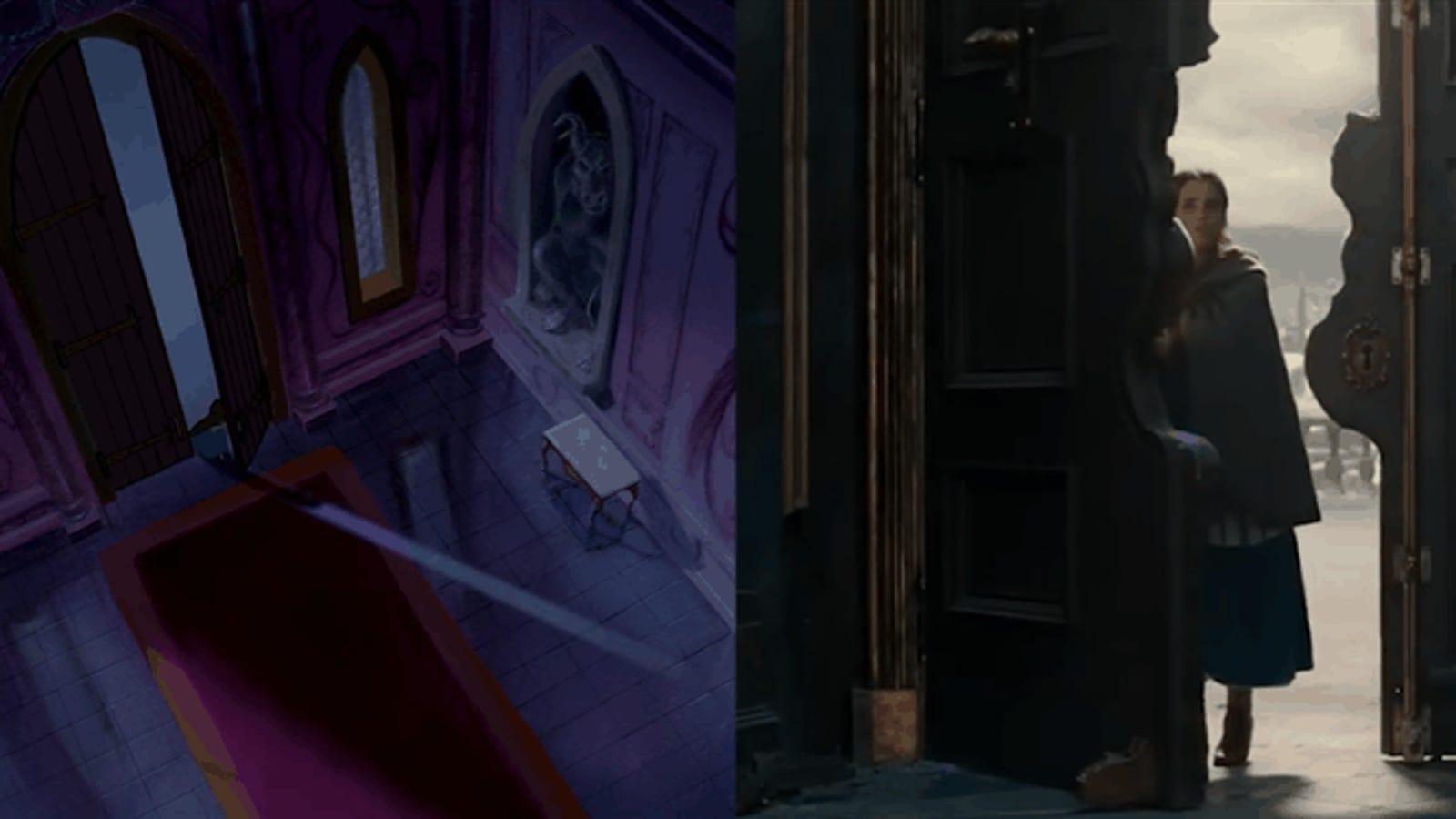 El nuevo tráiler de La Bella y la Bestia es una copia exacta del clásico animado