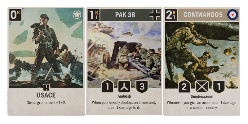 Illustration for article titled World War Two Is Now A Collectible Card Game