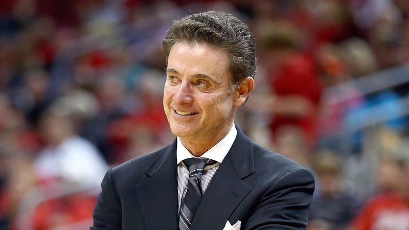Illustration for article titled Rick Pitino Likes What He's Seeing From Freshman Louisville Cheerleader
