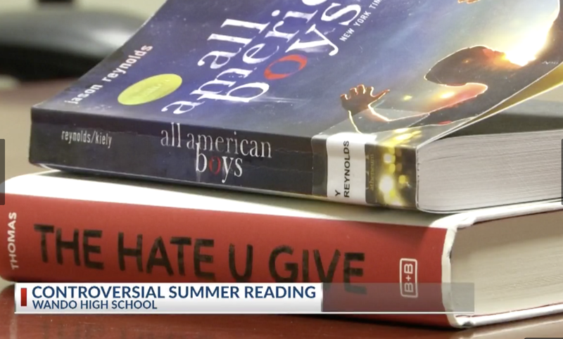 Illustration for article titled South Carolina Police Union Whines About Police Brutality Novel The Hate U GiveBeing on A School's Summer Reading List