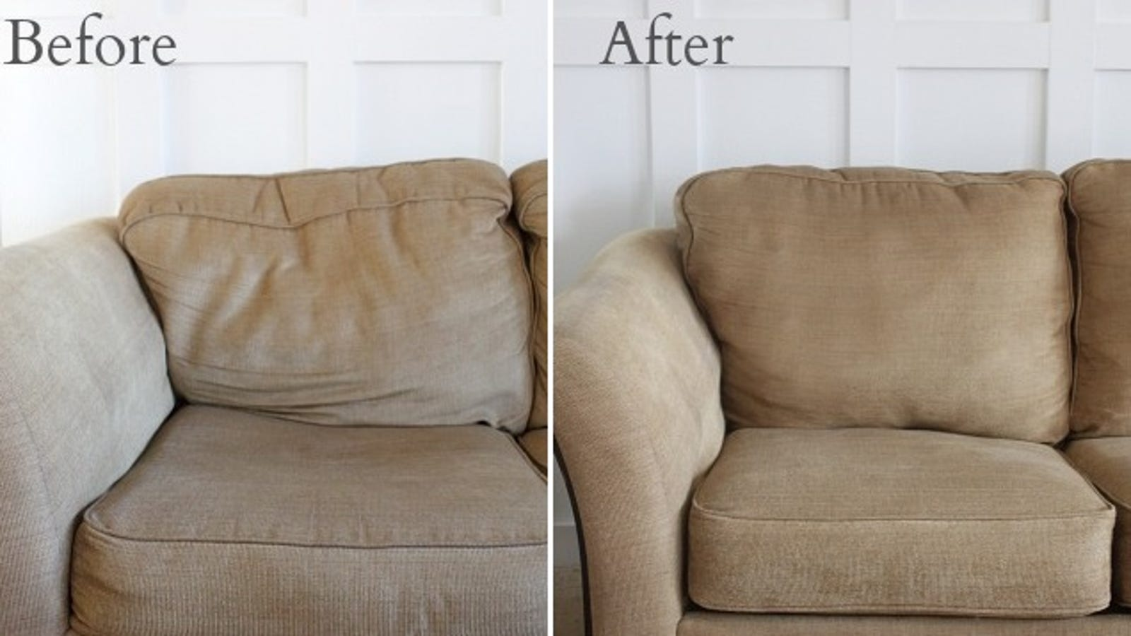 Revitalize Saggy Couch Cushions With Poly Fil And Quilt Batting