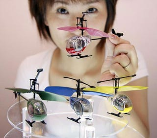 Illustration for article titled Next-Gen Tomy Heli-Q RC Helicopter Takes to the Skies Next Month