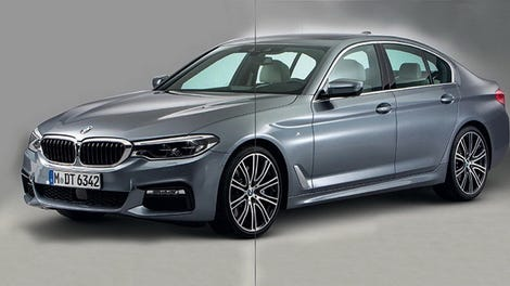 Here S The Next Bmw 5 Series Before You Re Supposed To See It