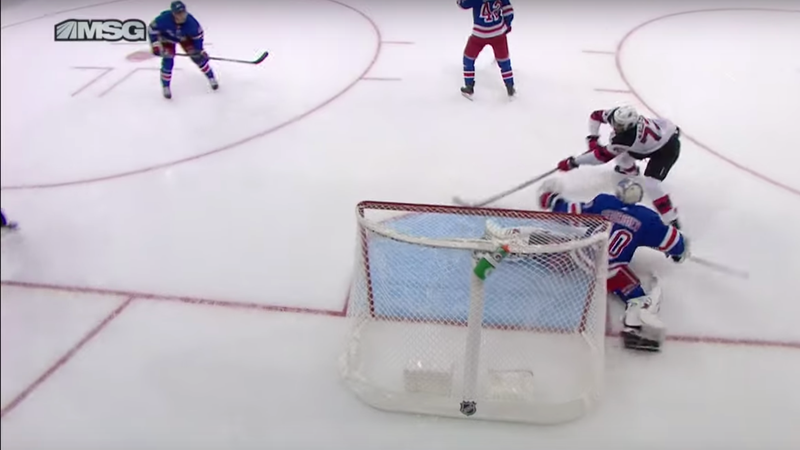 If Mikhail Maltsev Deking Alexandar Georgiev Into Oblivion Doesn't Get You Excited For Hockey, I Don't Know What Will