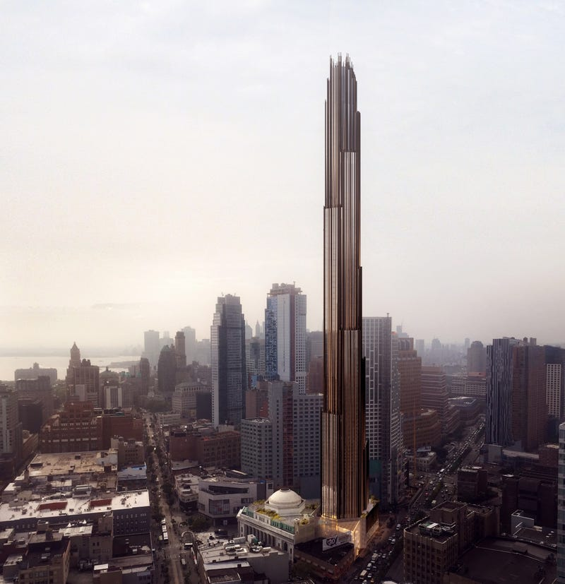This Super-Futuristic Skyscraper For Brooklyn Will Probably Never Get Built