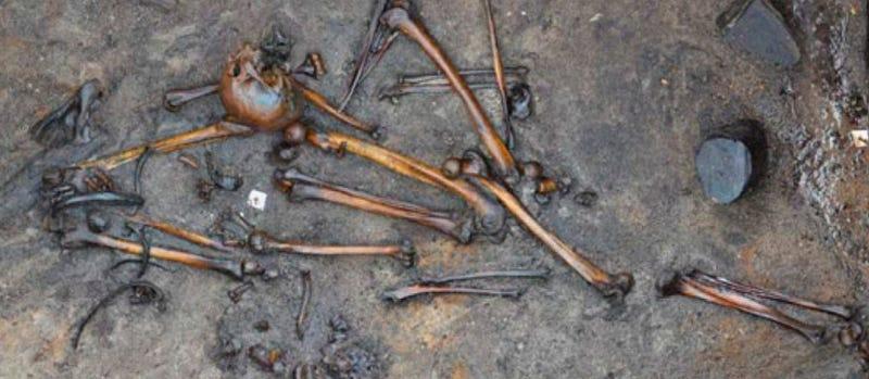 Illustration for article titled Las víctimas de una batalla de hace 2.300 años revelan las brutales prácticas de guerra de los antiguos germanos