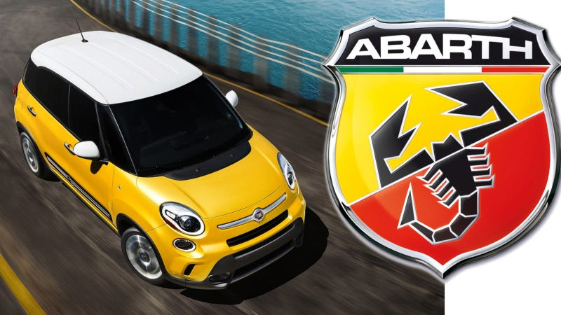 Illustration for article titled Fiat May Be Cooking Up A Raucous 500L Abarth